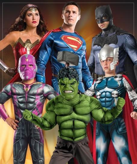 Superhelte kostumer