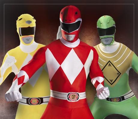 Power Rangers kostumer